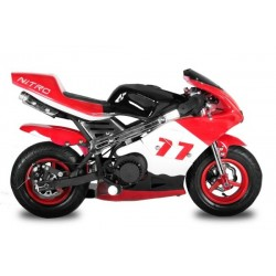 Mini moto SPEED 50cc KXD ROSSA